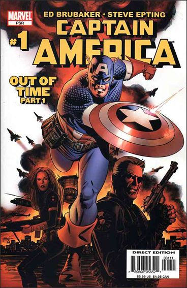 Captain America (2005) 1-A by Marvel