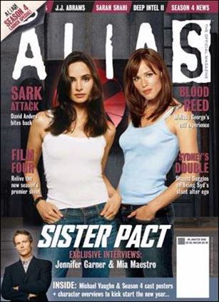 Alias: The Official Magazine 8-A