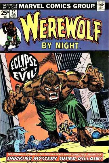 Werewolf by Night (1972) 25-A by Marvel