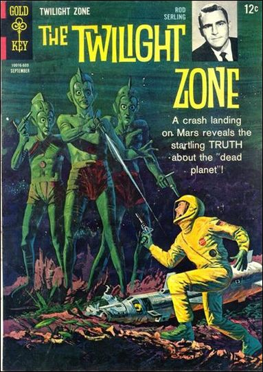 Twilight Zone (1962) 17-A by Gold Key