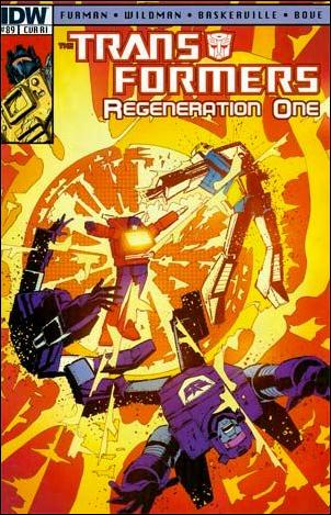 Transformers: Regeneration One 89-C by IDW