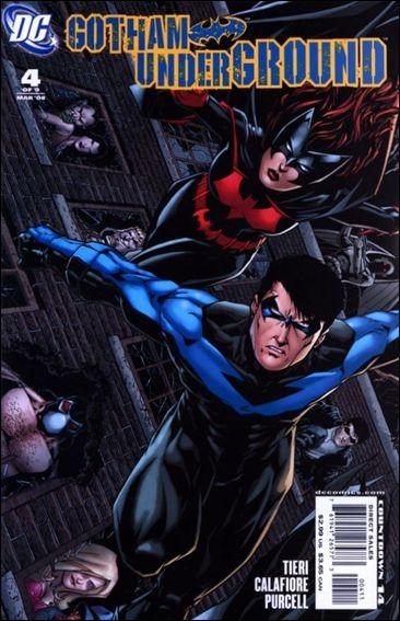 Gotham Underground 4-A by DC