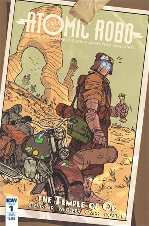 Atomic Robo and the Temple of Od 1-B