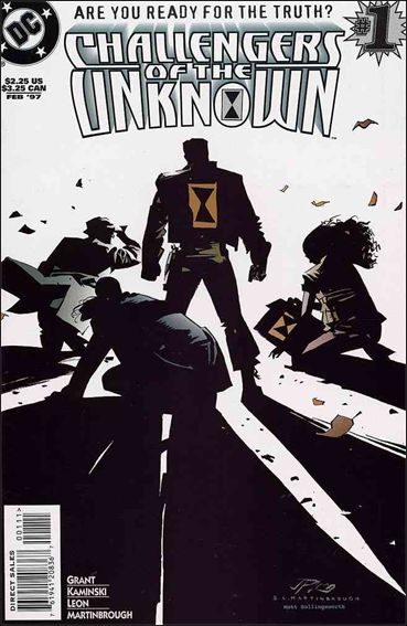 Challengers of the Unknown (1997) 1-A by DC