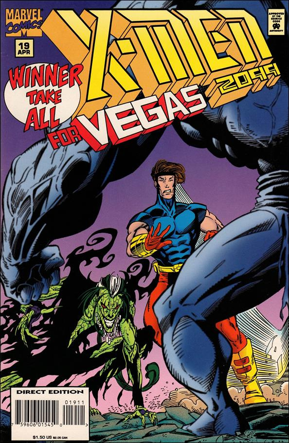 X-Men 2099 19-A by Marvel