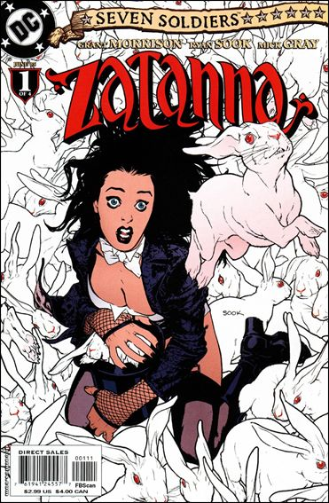 Seven Soldiers: Zatanna 1-A by DC