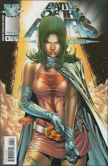 Battle of the Planets: Princess 6-A by Top Cow