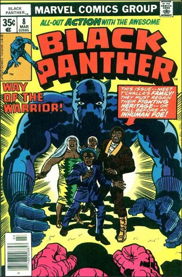 Black Panther (1977) 8-A by Marvel