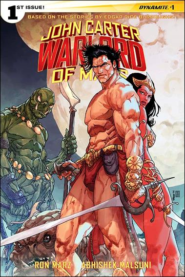 John Carter: Warlord of Mars (2014) 1-B by Dynamite Entertainment