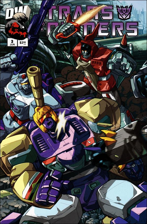 Transformers: Generation 1 (2003) 3-A by Dreamwave