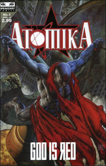 Atomika 2-A by Mercury Comics