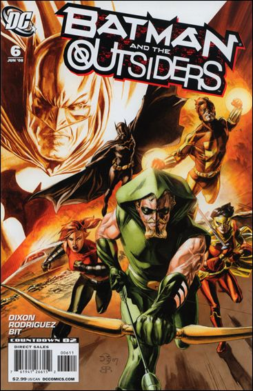 Batman and the Outsiders (2007) 6-A by DC