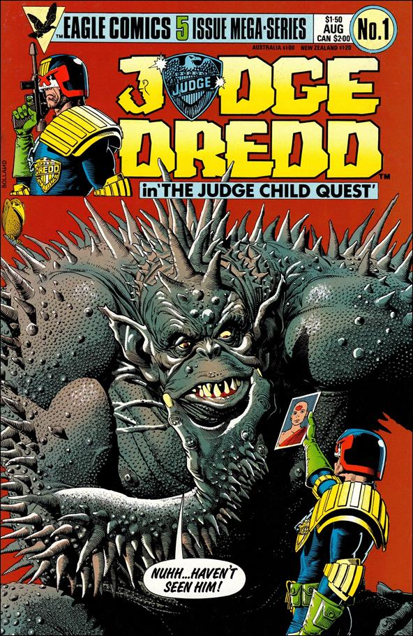 Judge Child 1-A by Eagle Comics