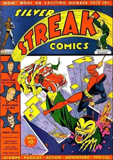 Silver Streak Comics (1939) 8-A by Lev Gleason Productions