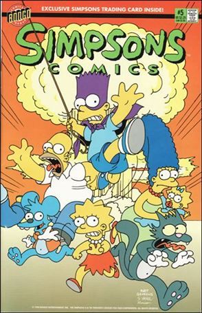 Simpsons Comics 5-A