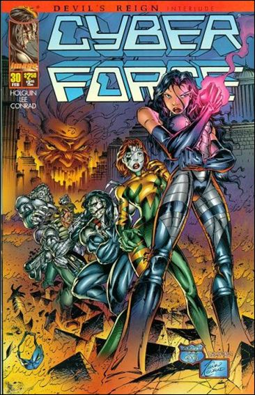 Cyberforce (1993) 30-A by Image