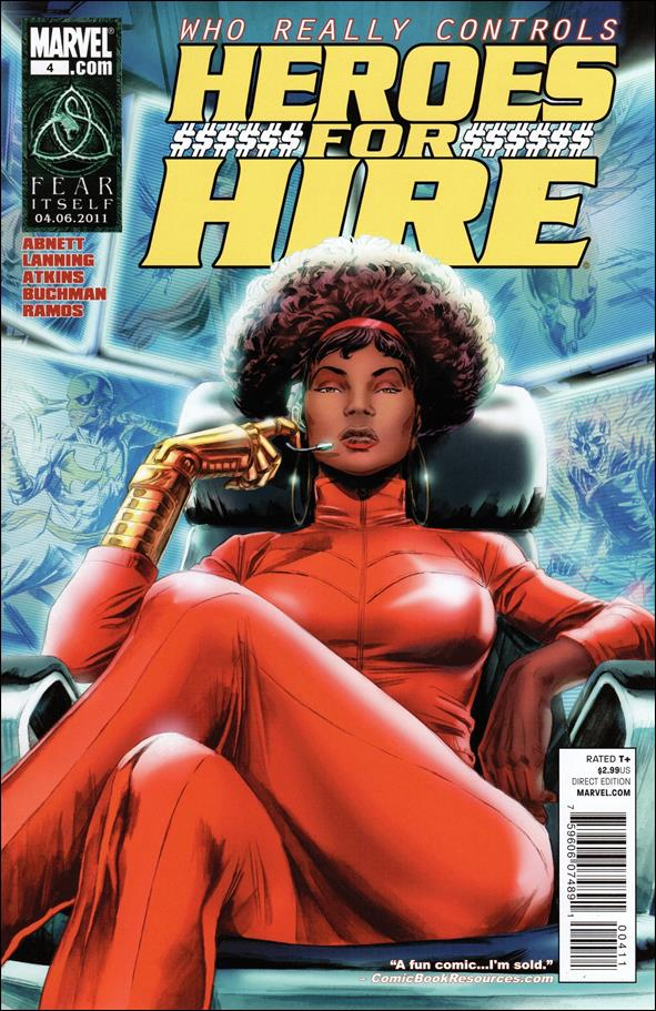Heroes for Hire (2011) 4-A by Marvel