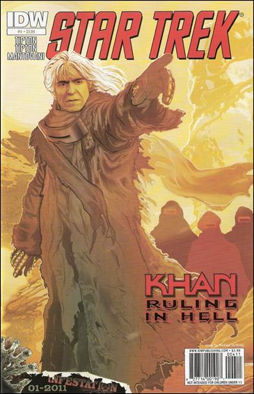 Star Trek: Khan Ruling in Hell  4-A by IDW