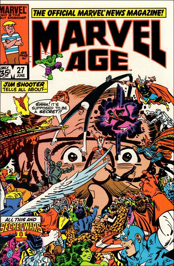 Marvel Age 27-A by Marvel