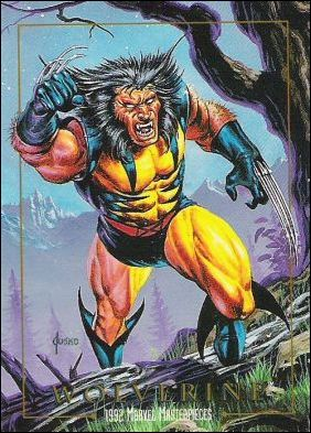 1992 Marvel Masterpieces (Base Set) 94-A by SkyBox