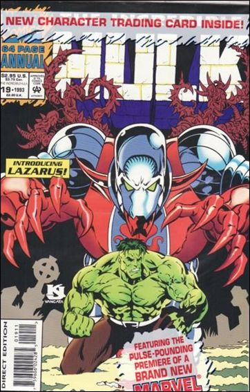 Incredible Hulk Annual  19-B by Marvel