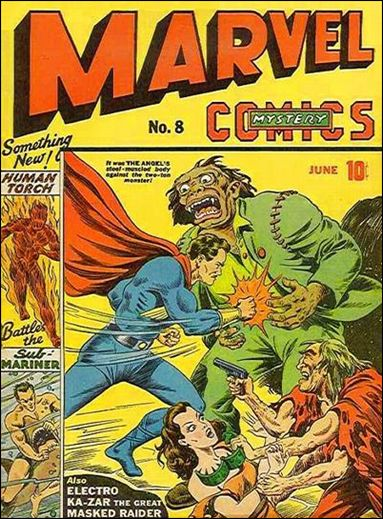 Marvel Mystery Comics (1939) 8-A by Timely