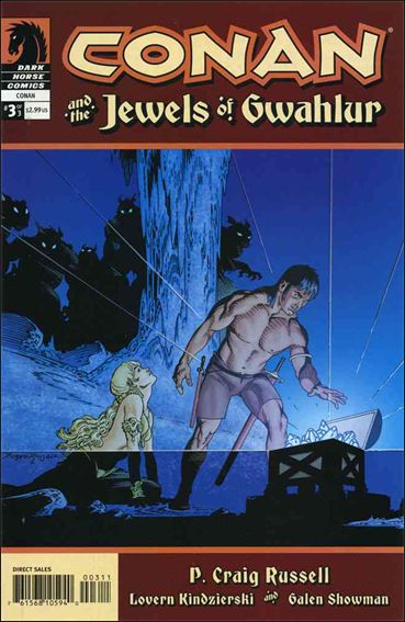 Conan and the Jewels of Gwahlur 3-A by Dark Horse