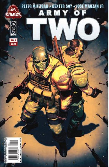 Army of Two 2-A by IDW