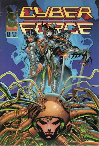 Cyberforce (1993) 11-A by Image