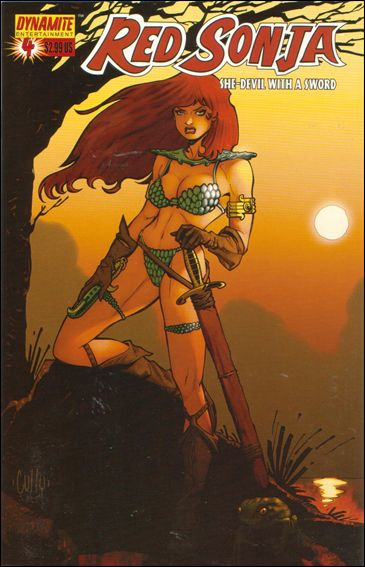 Red Sonja (2005) 4-C by Dynamite Entertainment