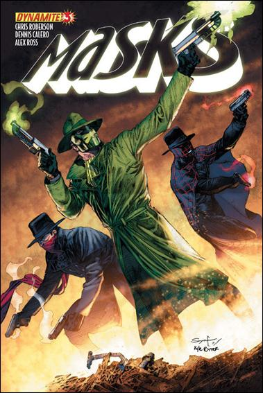 Masks 3-B by Dynamite Entertainment