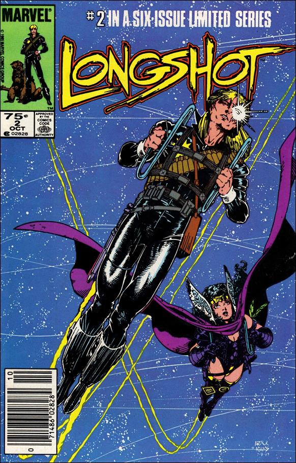 Longshot (1985) 2-A by Marvel
