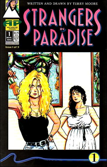 Strangers in Paradise (1993) 1-A by Antarctic Press