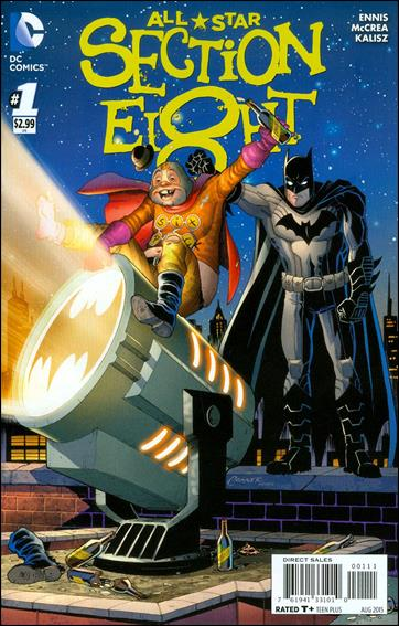 All-Star Section Eight 1-A by DC