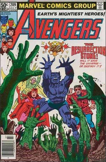 Avengers (1963) 209-A by Marvel