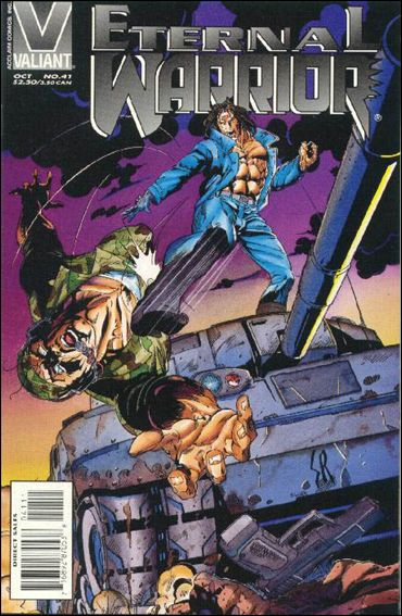 Eternal Warrior (1992) 41-A by Valiant