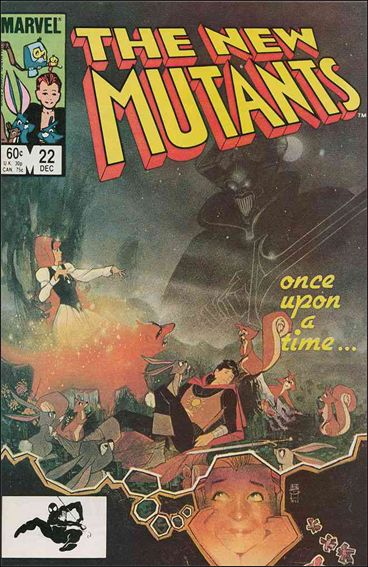 New Mutants (1983) 22-A by Marvel