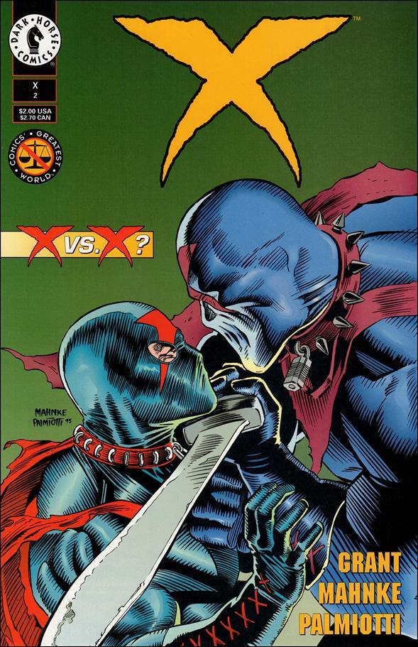 X (1994) 2-A by Dark Horse