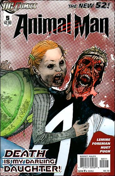 Animal Man (2011) 5-A by DC