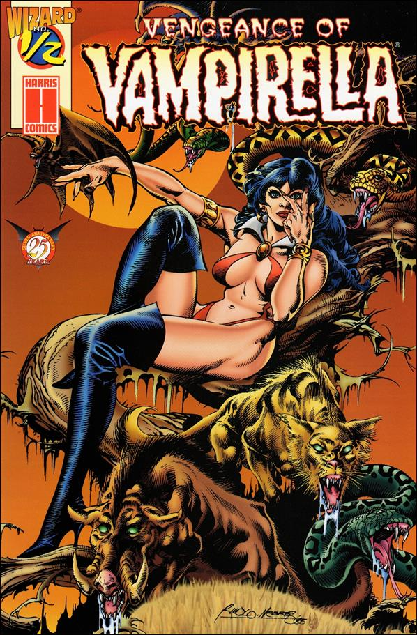 Vengeance of Vampirella 1/2-A by Harris
