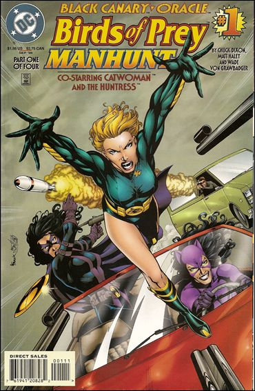 Birds of Prey: Manhunt 1-A by DC
