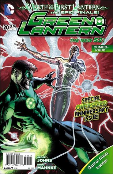 Green Lantern (2011) 20-B by DC