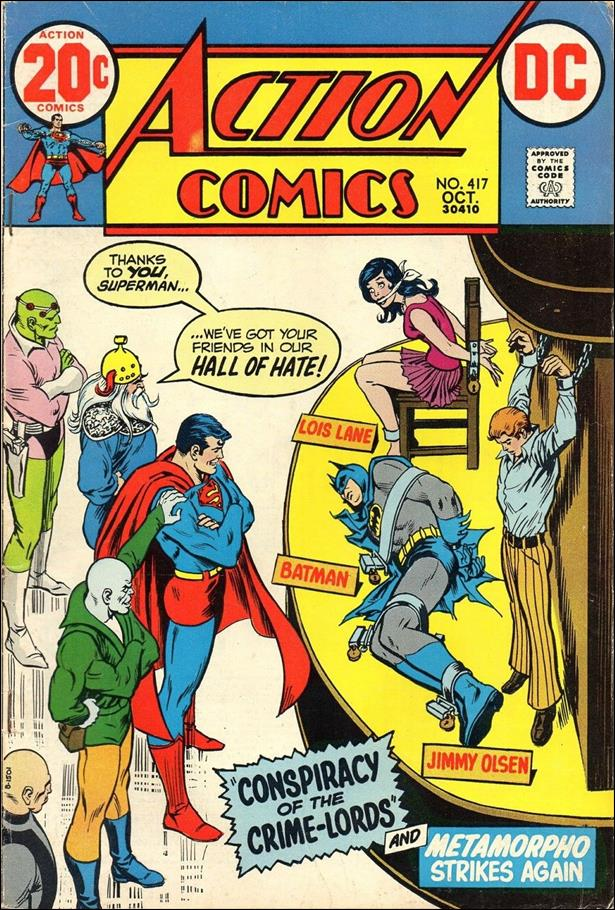 Action Comics (1938) 417-A by DC