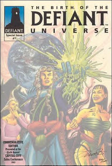 Birth of the Defiant Universe 1-A by Defiant