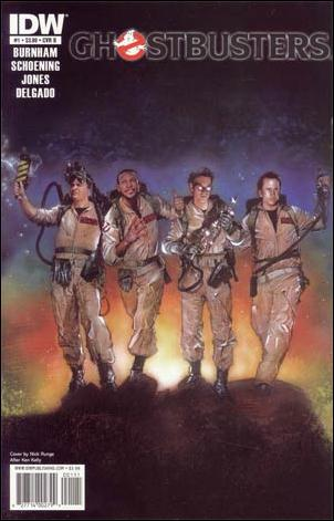 Ghostbusters (2011) 1-B by IDW