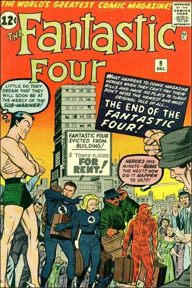 Fantastic Four (1961) 9-A by Marvel