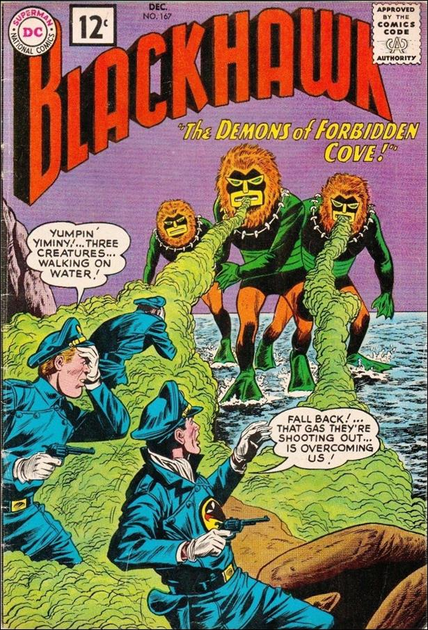 Blackhawk (1944) 167-A by DC