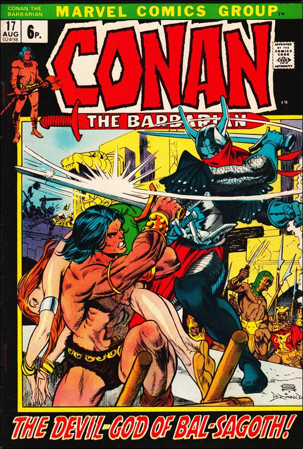 Conan the Barbarian (1970) 17-B by Marvel