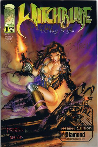 Witchblade 1-I by Top Cow