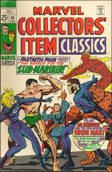 Marvel Collectors' Item Classics 19-A by Marvel